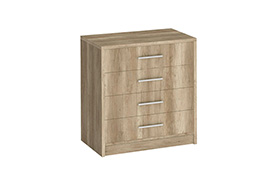 Chest of drawers GENEWA I oak canyon