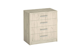 Chest of drawers GENEWA I Oak craft