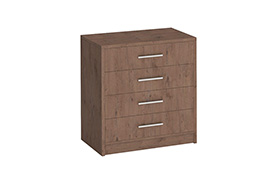 Chest of drawers GENEWA I oak sterling