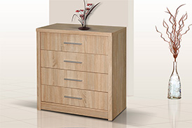 Chest of drawers GENEWA I oak sonoma