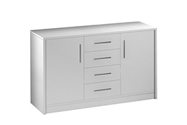 Chest of drawers GENEWA II white