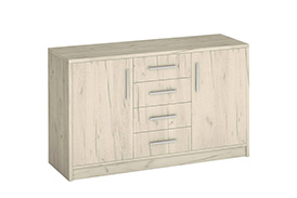 Chest of drawers GENEWA II oak craft