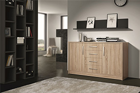 Chest of drawers GENEWA II oak sonoma