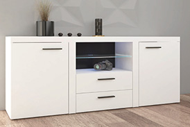 Chest of drawers RUMBA WH20 white
