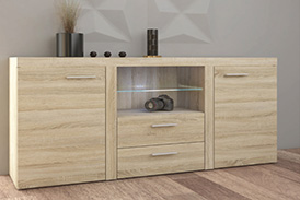 Chest of drawers RUMBA SO20 oak sonoma