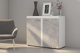 Chest of drawers RUMBA BJ21 light concrete