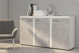 Chest of drawers RUMBA BJ22 light concrete