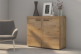 Chest of drawers RUMBA DL21 oak lefkas