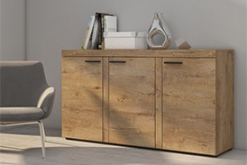 Chest of drawers RUMBA DL22 oak lefkas