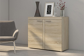 Chest of drawers RUMBA SO21 oak sonoma