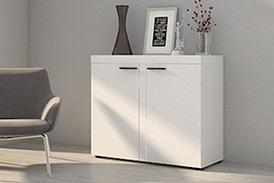 Chest of drawers RUMBA WH21 white