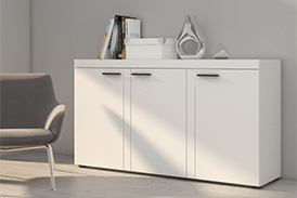 Chest of drawers RUMBA WH22 white