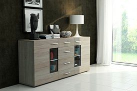 Chest of drawers TANGO oak sonoma
