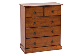 Chest of drawers BOSTON antique cherry