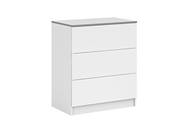 Chest of drawers VISTA S3 white