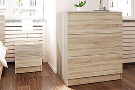 Chest of drawers VISTA S3 oak sonoma