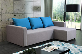 Corner Sofa RICO WITH ARMRESTS