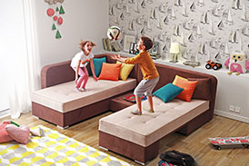 Corner Sofa - Bed VERTUS