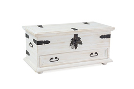 Storage chest POPRAD patina pine