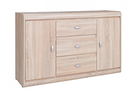 SV6 SILVER CHEST OF DRAWERS