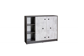 TM9 TOMMY CHEST OF DRAWERS GRAPHITE/ENIGMA